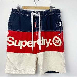 Superdry men's swim board shorts